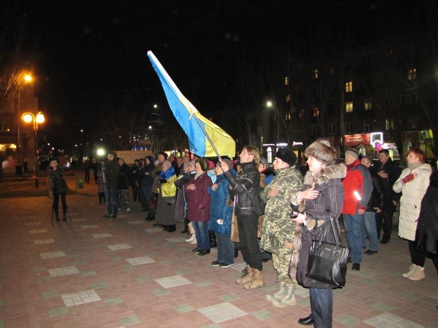Мелитопольские активисты подвели итоги Революции Достоинства (фото, видео), фото-6