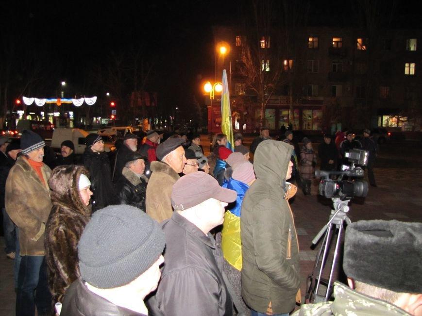 Мелитопольские активисты подвели итоги Революции Достоинства (фото, видео), фото-1