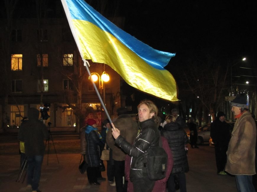 Мелитопольские активисты подвели итоги Революции Достоинства (фото, видео), фото-3