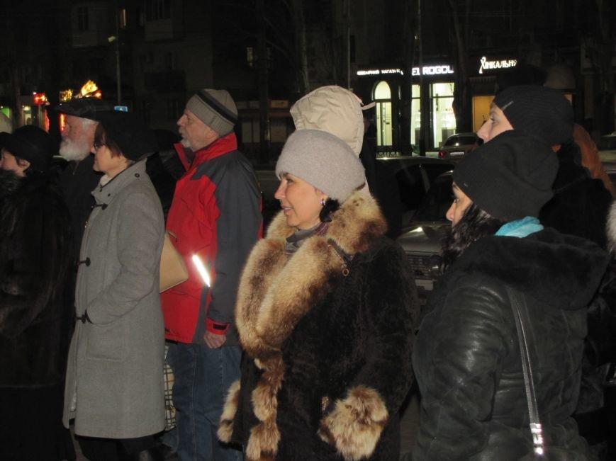 Мелитопольские активисты подвели итоги Революции Достоинства (фото, видео), фото-8
