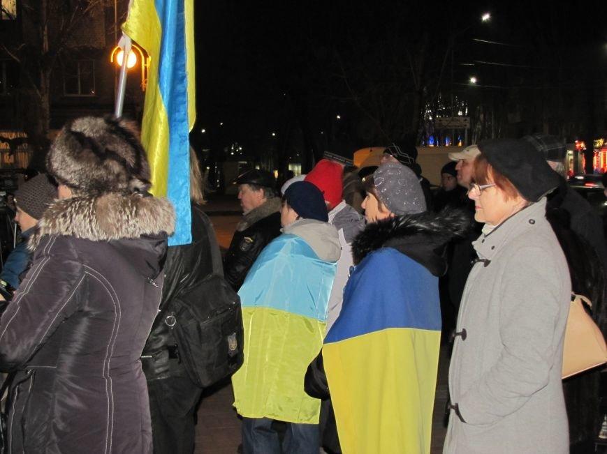 Мелитопольские активисты подвели итоги Революции Достоинства (фото, видео), фото-9