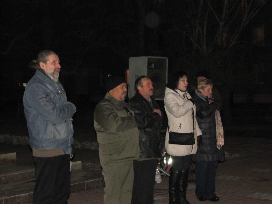 Мелитопольские активисты подвели итоги Революции Достоинства (фото, видео), фото-4