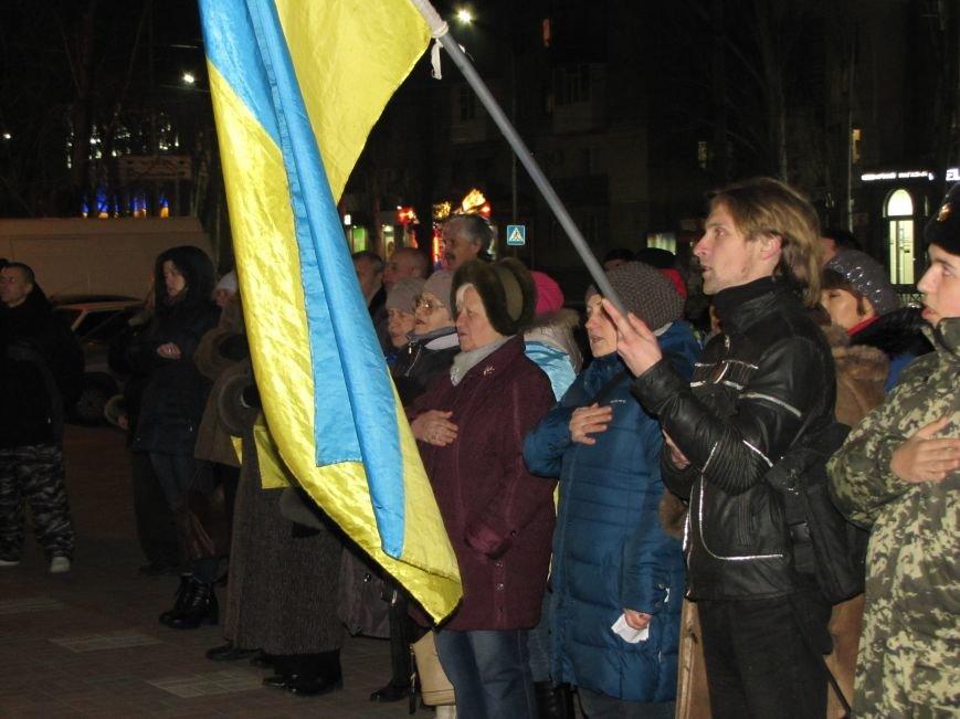 Мелитопольские активисты подвели итоги Революции Достоинства (фото, видео), фото-5