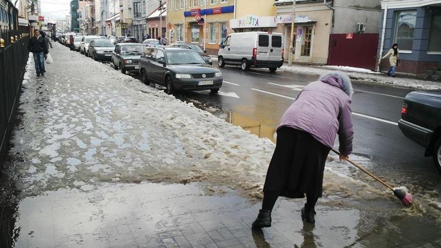 Ужгородська мерія та підприємці не справилися з першим снігом: фото, фото-3