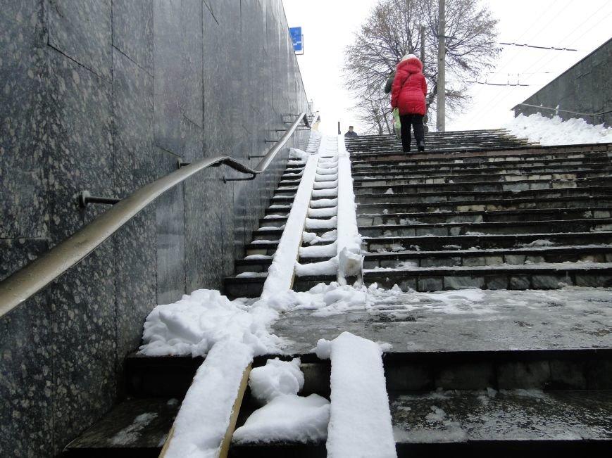 В якому стані пандуси біля Хмельницьких будівель (ФОТО), фото-3
