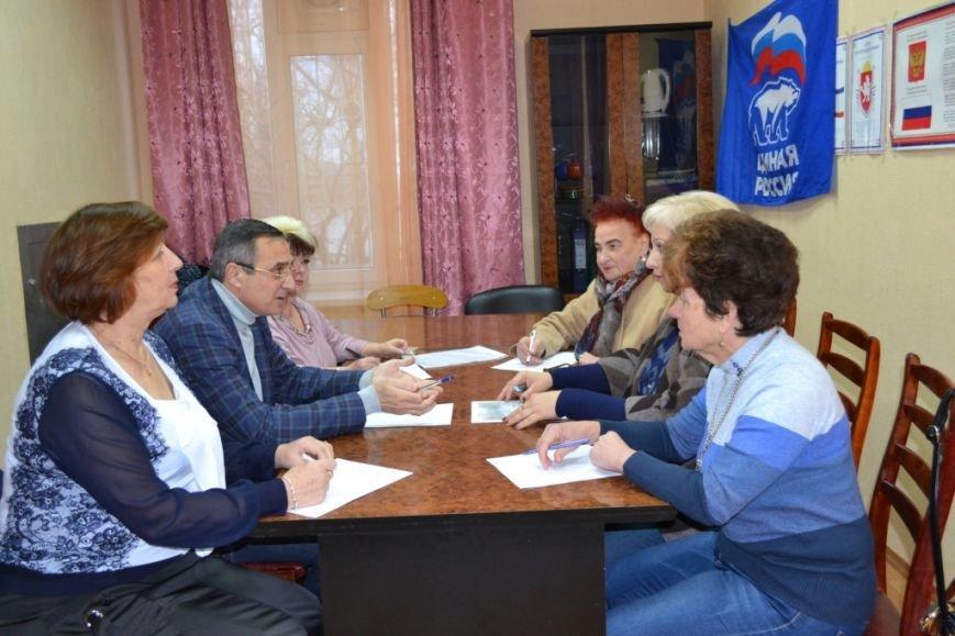 Юбилей партии «Единая Россия» в Алупке и Кореизе отметили приемом граждан, фото-2