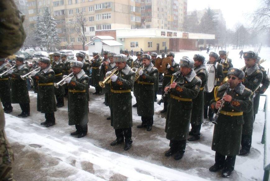 Во Львове почтили память майора Кругликова, погибшего на Луганщине, фото-6