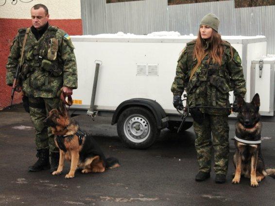 Четверо закарпатських кінологів поїхали захищати Україну в зону АТО: фото, фото-2