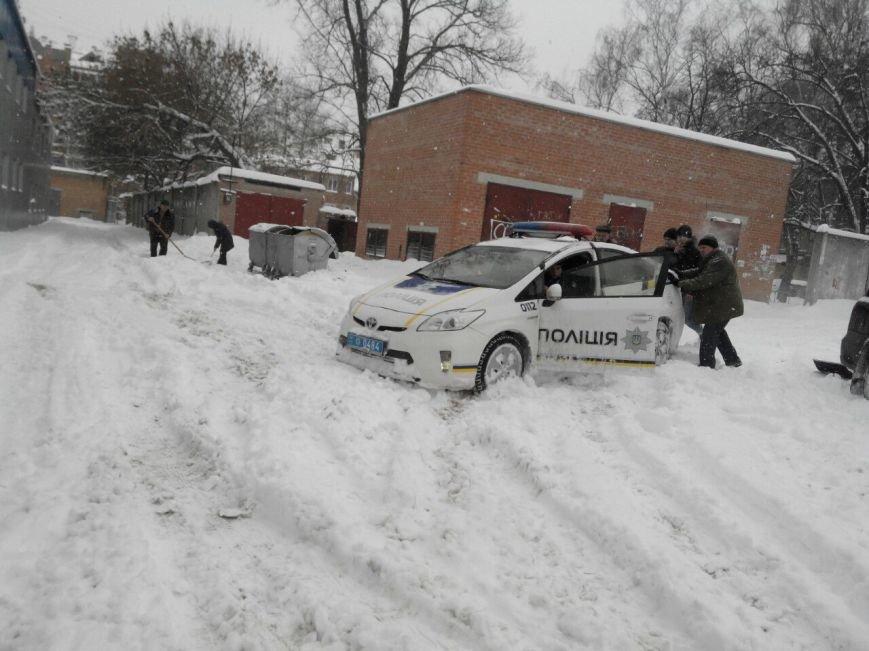 Полтаву замело снегом: неожиданность или закономерность, фото-1