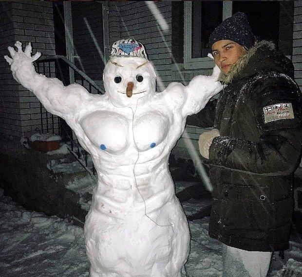 Сніговики-8