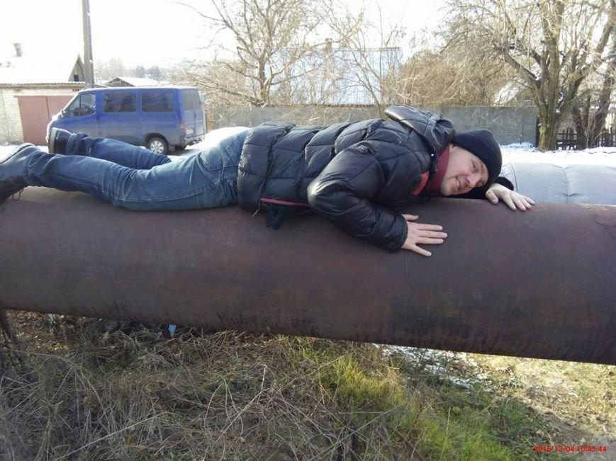 """""""Кривой Рог - не жлобский город"""", - на улице Летчиков в морозы можно греться на теплотрассе (ФОТО), фото-2"""
