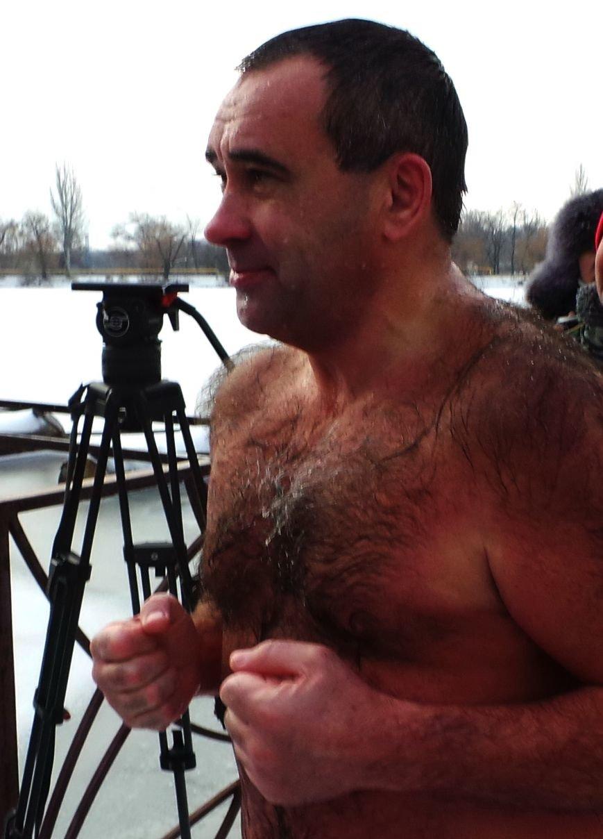 Донецкие моржи открыли сезон на городском пруду (ФОТО), фото-2