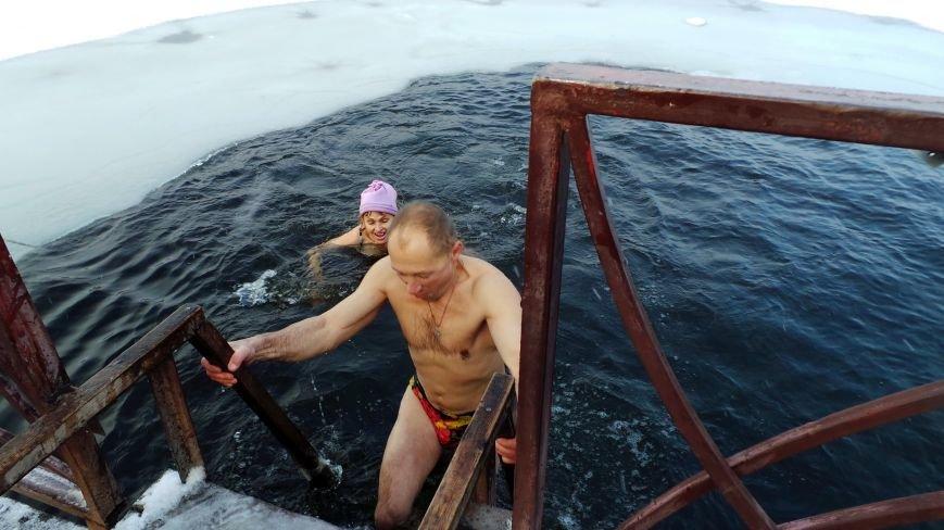 Донецкие моржи открыли сезон на городском пруду (ФОТО), фото-4