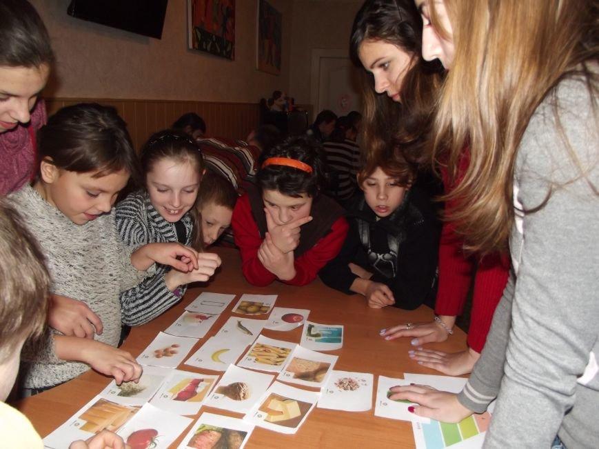 """Волонтеры из """"Дома Милосердия"""" в играх рассказали интернатовцам о здоровом питании, фото-1"""