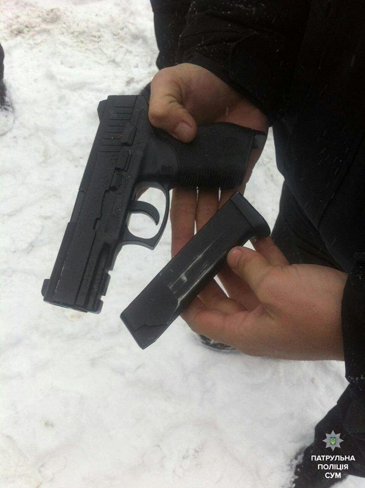 В Сумах пара угрожала застрелить врача (ФОТО), фото-1