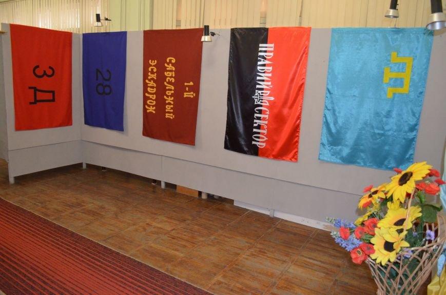 От Киевской Руси до Правого сектора: в музее показали украинские флаги (фото), фото-10