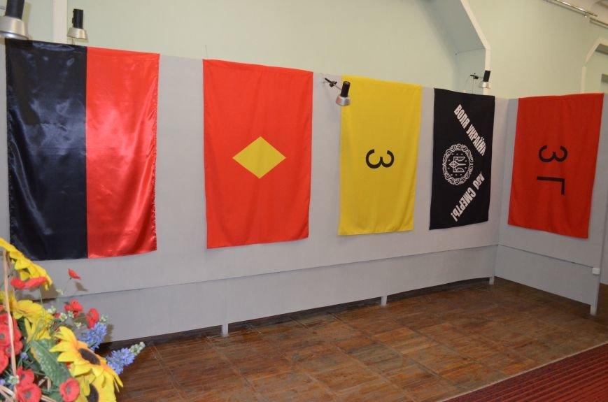 От Киевской Руси до Правого сектора: в музее показали украинские флаги (фото), фото-9