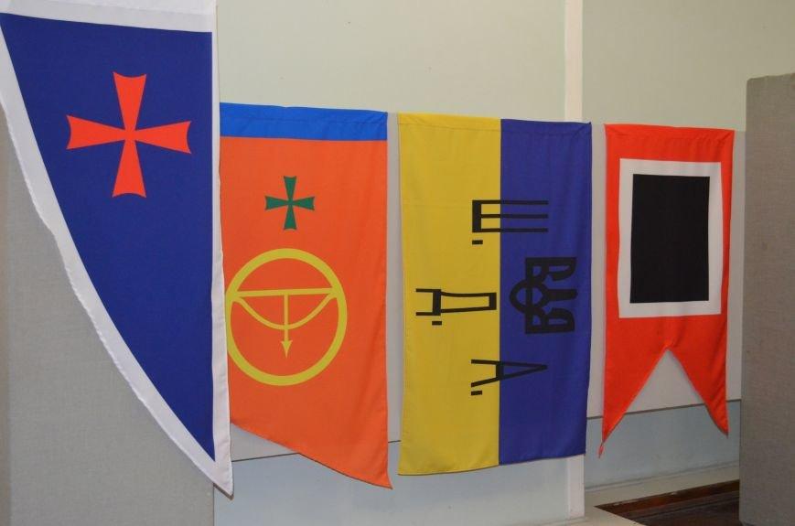 От Киевской Руси до Правого сектора: в музее показали украинские флаги (фото), фото-6