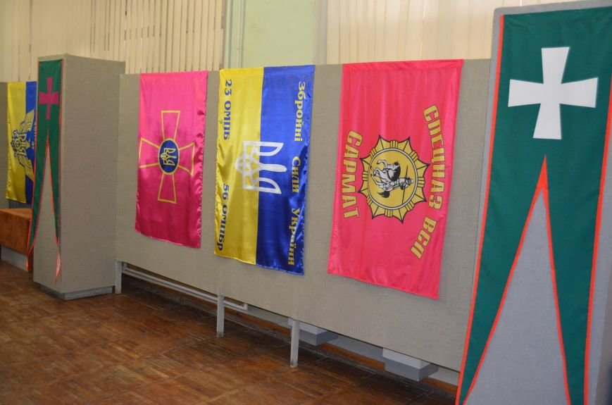 От Киевской Руси до Правого сектора: в музее показали украинские флаги (фото), фото-5