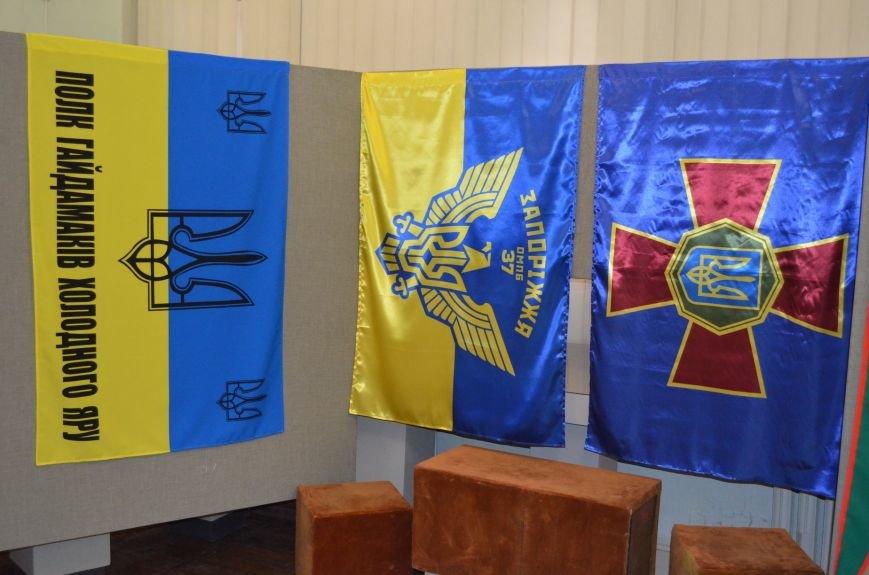 От Киевской Руси до Правого сектора: в музее показали украинские флаги (фото), фото-8