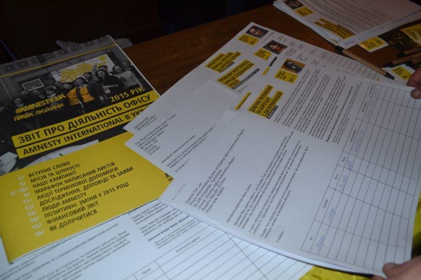 В Полтаве собирают подписи, чтобы освободить политзаключенных  в разных уголках мира, фото-3