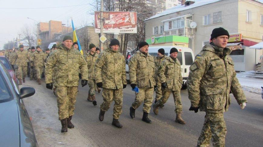 У Тернополі військові влаштували своєрідний флешмоб (фото), фото-2