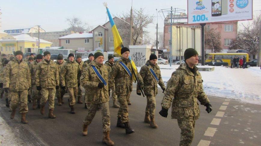 У Тернополі військові влаштували своєрідний флешмоб (фото), фото-3