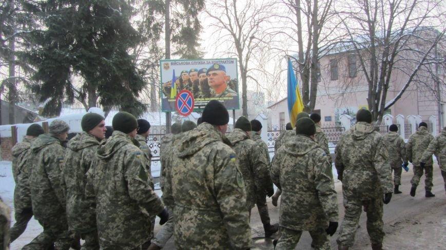 У Тернополі військові влаштували своєрідний флешмоб (фото), фото-4