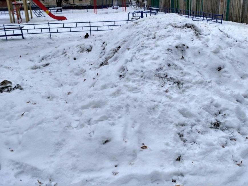 Уборка снега в Вишневом (ФОТО), фото-20