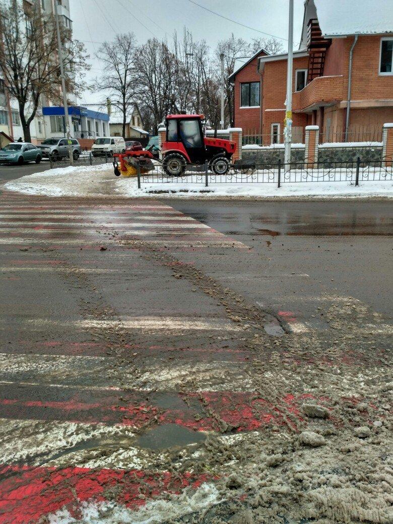 Уборка снега в Вишневом (ФОТО), фото-3