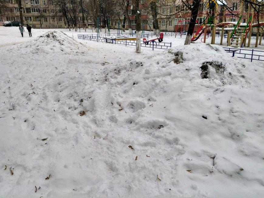 Уборка снега в Вишневом (ФОТО), фото-18