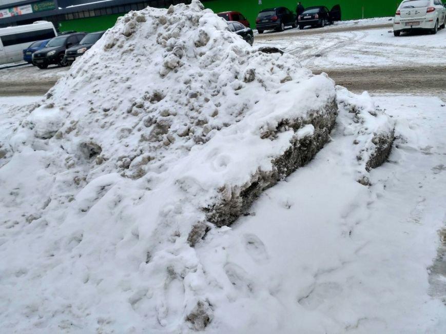 Уборка снега в Вишневом (ФОТО), фото-11