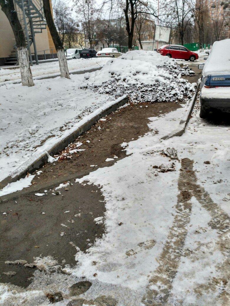 Уборка снега в Вишневом (ФОТО), фото-16