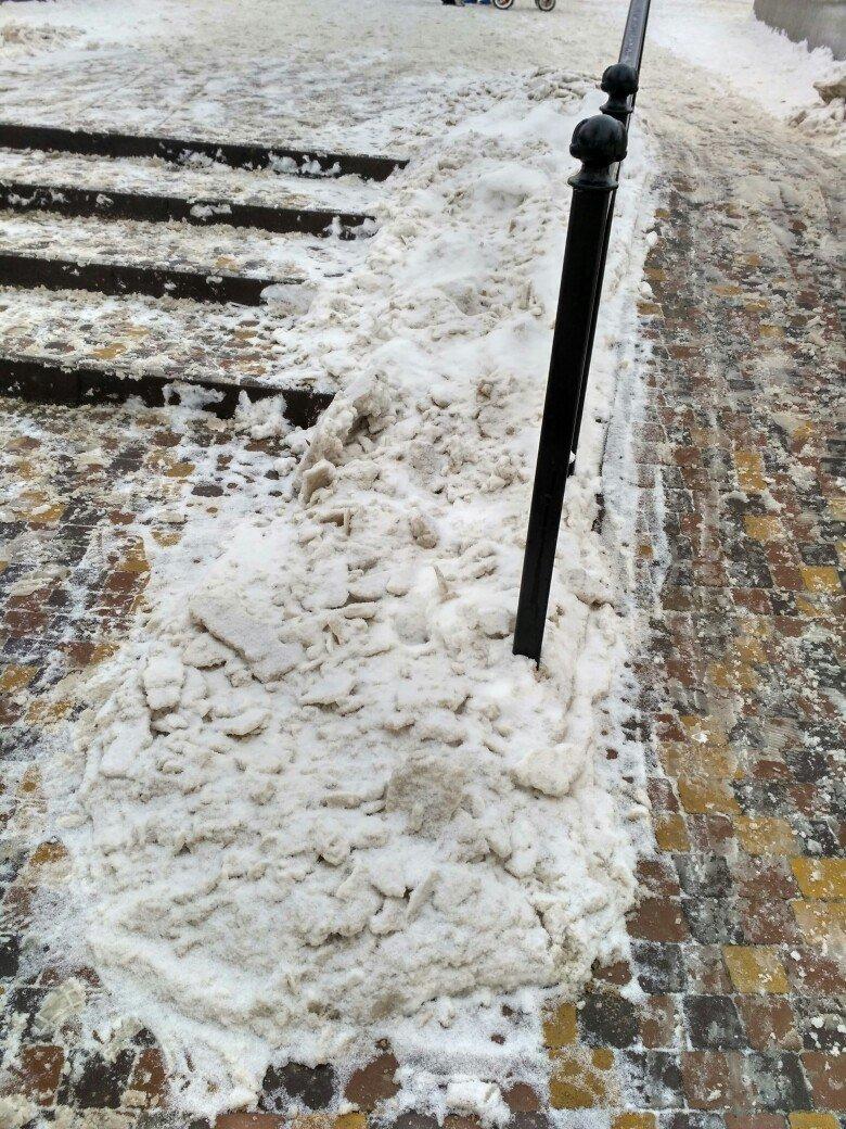 Уборка снега в Вишневом (ФОТО), фото-14