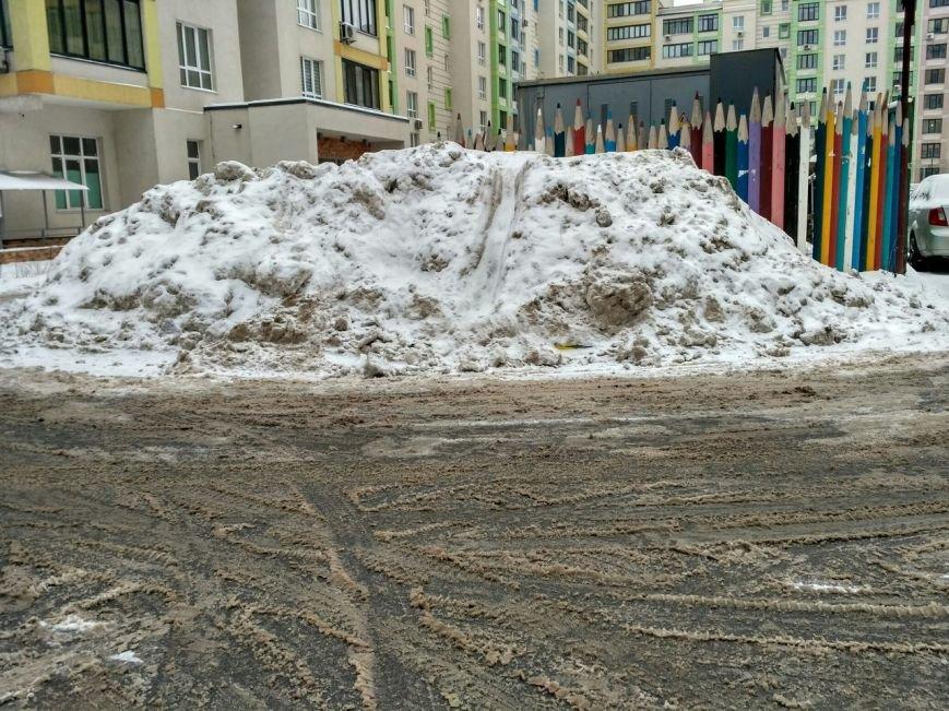 Уборка снега в Вишневом (ФОТО), фото-6