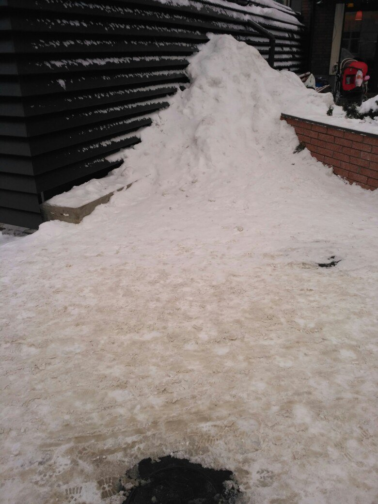 Уборка снега в Вишневом (ФОТО), фото-9