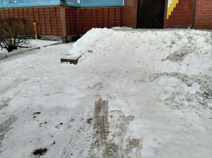 Уборка снега в Вишневом (ФОТО), фото-17