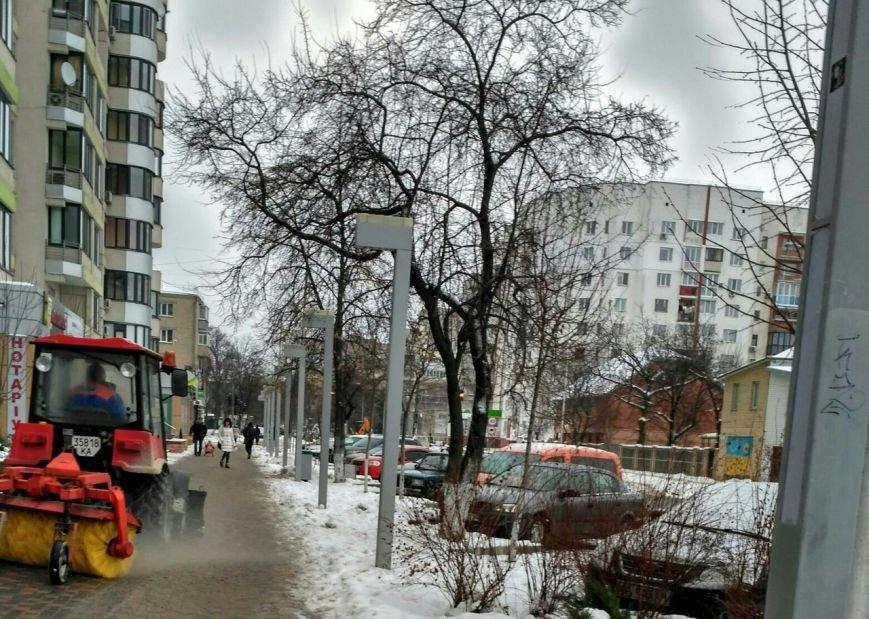 Уборка снега в Вишневом (ФОТО), фото-2