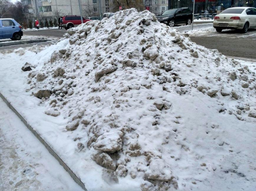 Уборка снега в Вишневом (ФОТО), фото-12