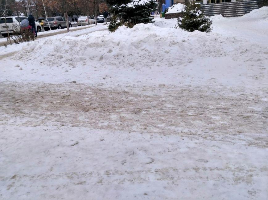 Уборка снега в Вишневом (ФОТО), фото-13