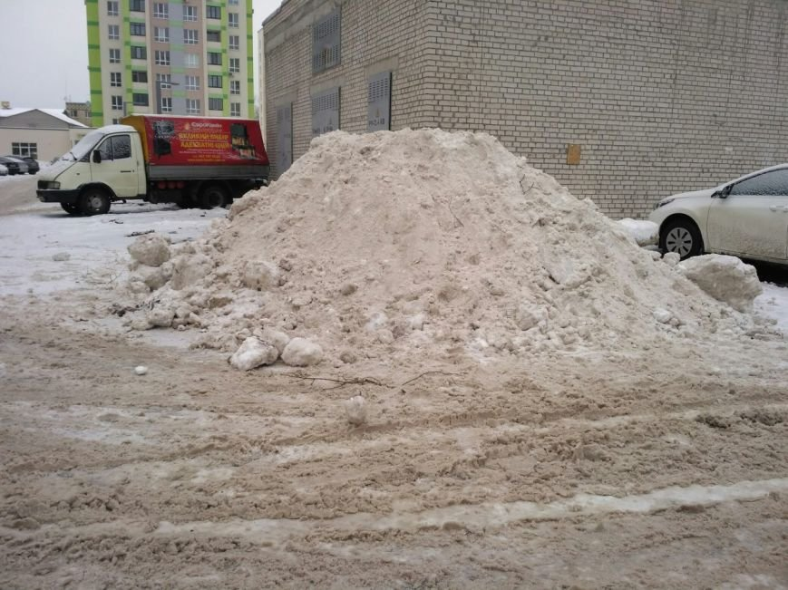 Уборка снега в Вишневом (ФОТО), фото-7