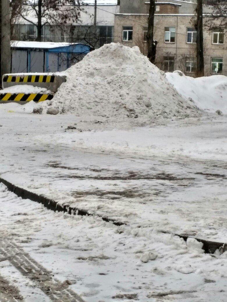 Уборка снега в Вишневом (ФОТО), фото-10