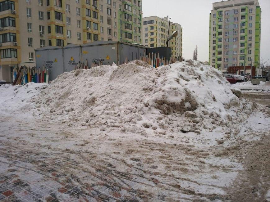 Уборка снега в Вишневом (ФОТО), фото-5