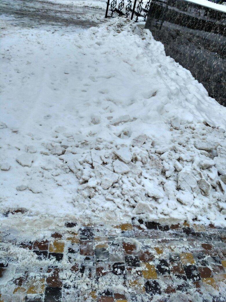 Уборка снега в Вишневом (ФОТО), фото-15