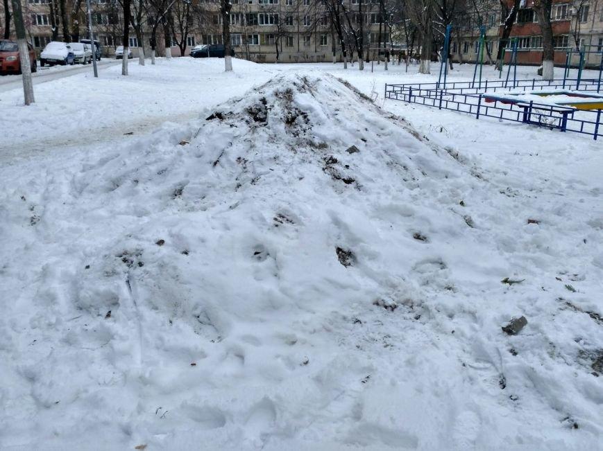 Уборка снега в Вишневом (ФОТО), фото-19