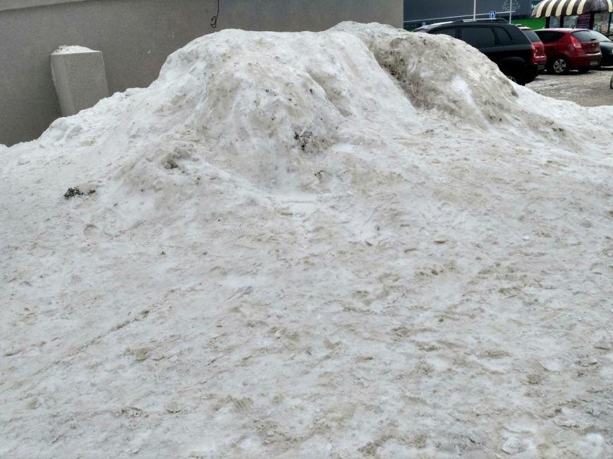 Уборка снега в Вишневом (ФОТО), фото-8