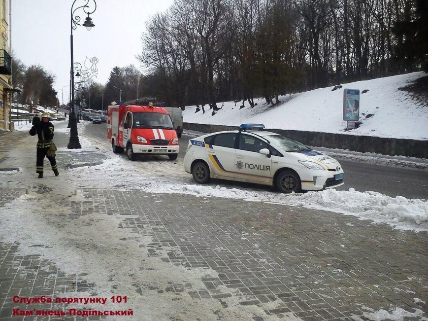 Псевдо-замінування «UniCreditBank» у Кам'янці-Подільському, фото-1