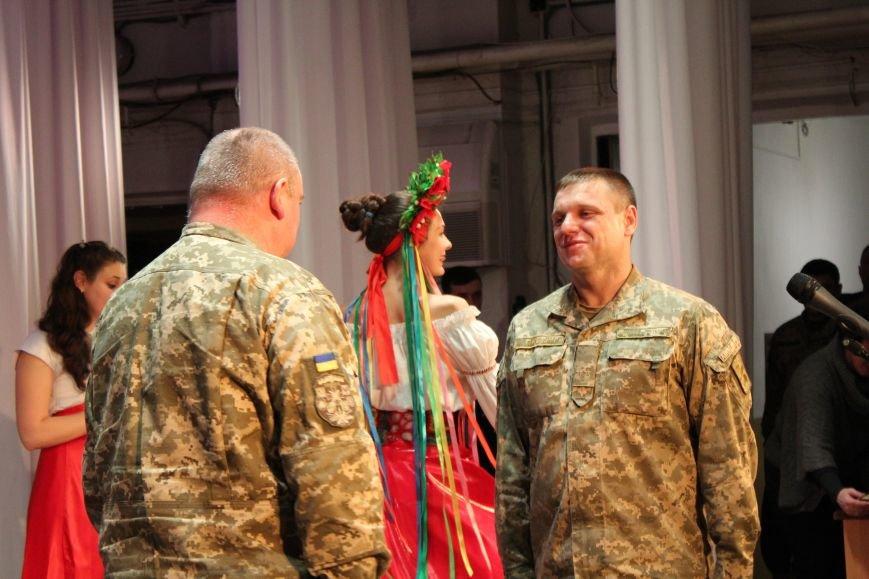 В Мариуполе военных поздравили с Днем ВСУ (ФОТО), фото-6