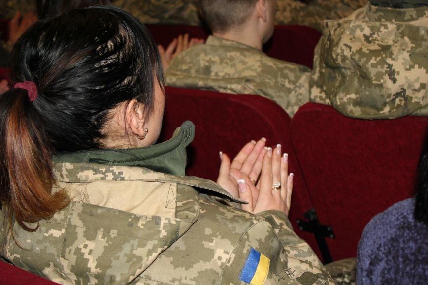 В Мариуполе военных поздравили с Днем ВСУ (ФОТО), фото-7