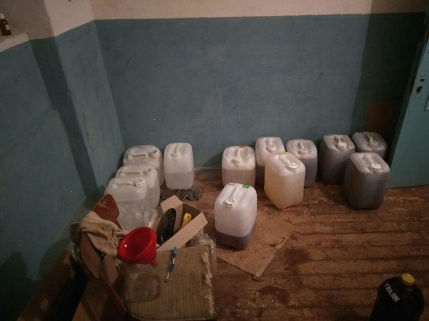 На Сумщине обнаружили подпольный цех по незаконному изготовлению «элитного» алкоголя (ФОТО), фото-1